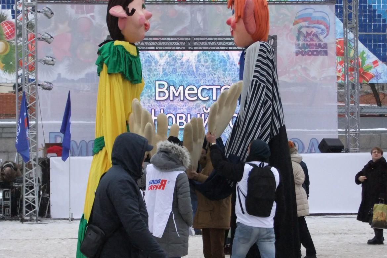Ёлка. Центр Волгограда 063