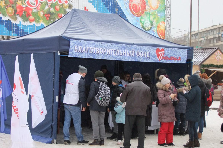 Ёлка. Центр Волгограда 128
